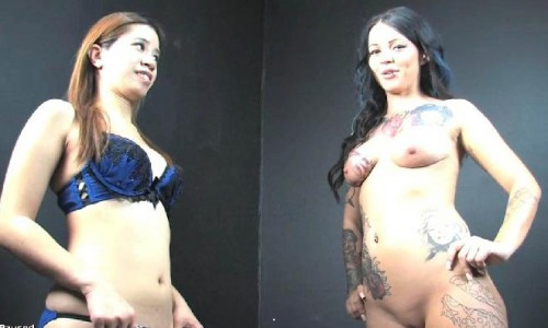 Lesbianassworship - Brittany Lynn And Asia Zo Ep01 And 02