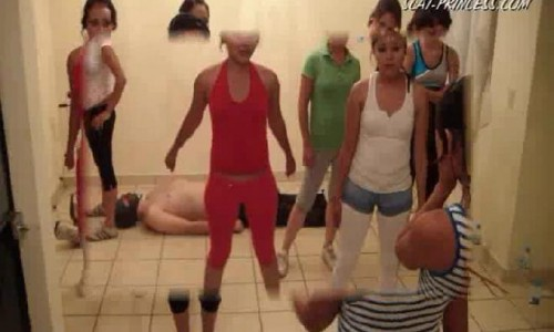 Dom-princess - Scat-princess - Toilet Slaves Aerobic Lessons Part 3 Dom-princess