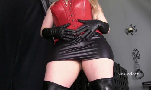 Suffer For The Leather Domme Miss Noel Knight