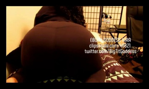 bubbly gassy yoga pants farts  1280x720 hd ebony goddess kira - bigtitgoddess