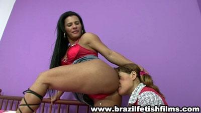 Brazilfetishfilms - Lick Dani Lopess Delicious Ass Hd