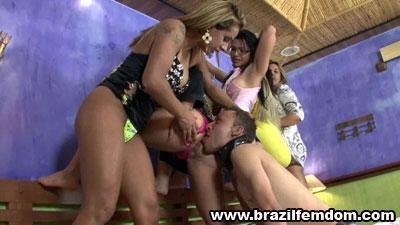 Five Goddesses Asses To Lick, Loser Brazilfemdom
