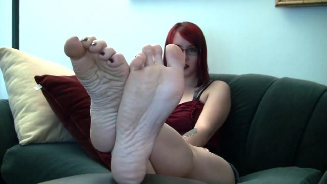 Dawn Cross-ankles Soles Sexy Feet Collection