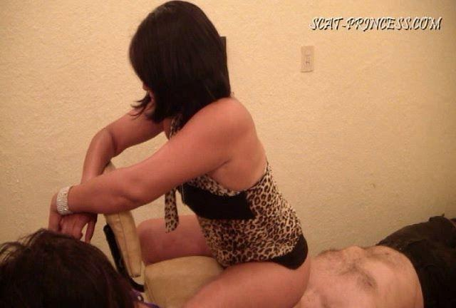 Dom-princess - Scat-princess - Toilet Slave And The Duct Tape Trick Part 4 Dom-princess