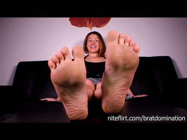 Miss Brat Perversions Chastity For My Feet
