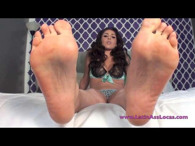 Jasmine Mendez - Slurp It Off My Soles -foot Bitch Lick It Up
