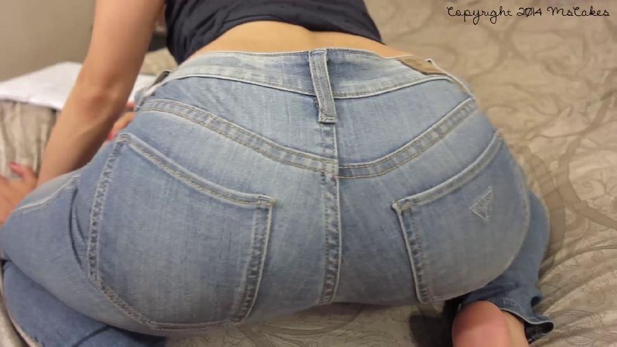 ass worship reward for my jeans slave hd mscakes