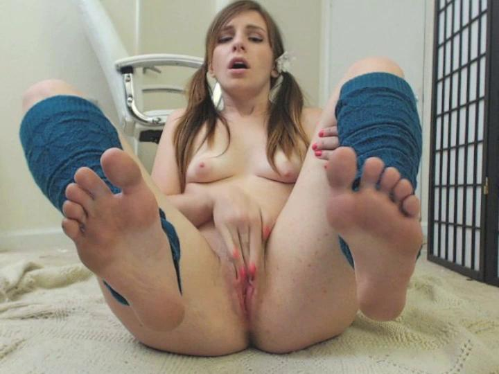 foot fetish pussy play lacielaplante